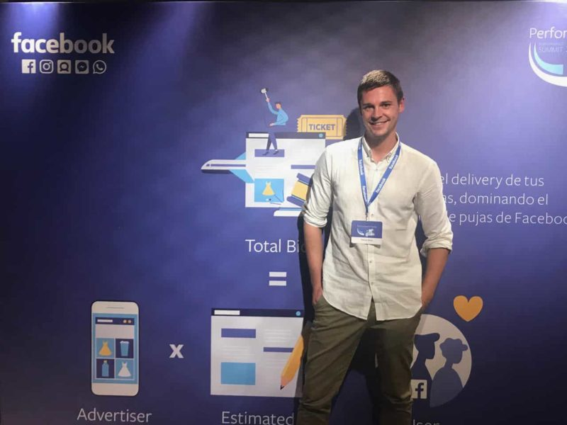 Patrick Wind, experto en Facebook Ads de Universidad Ecommerce