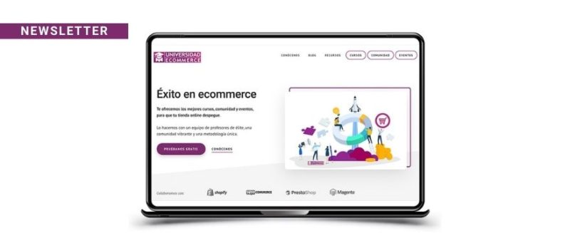 newsletter universidad ecommerce