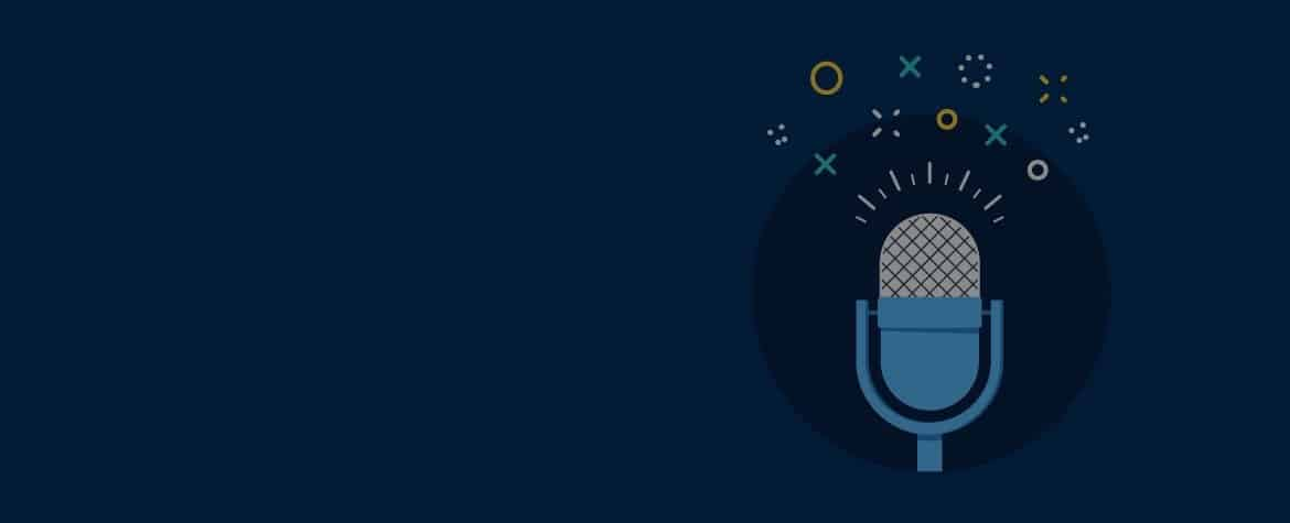 Fondo podcast universidad ecommerce